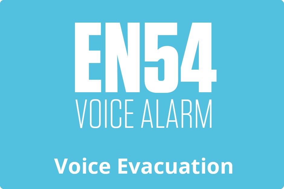 EN54 Voice Alarm