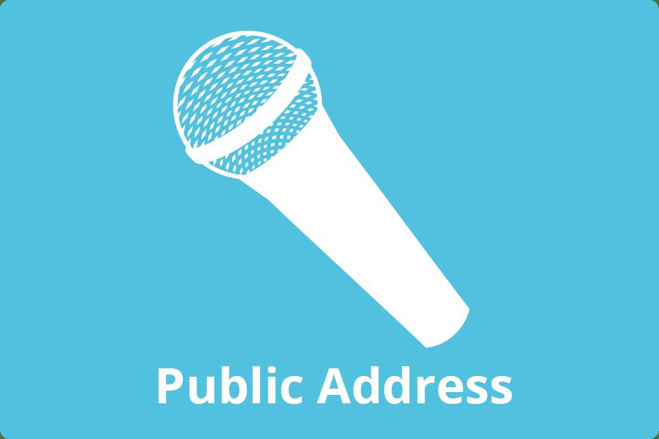 public-address-button