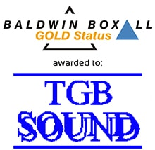 TGB Sound gains Baldwin Boxall Gold Status small