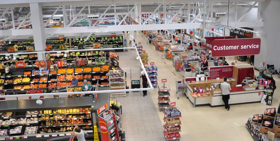 Baldwin Boxall Sainsburys Supermarket - Baldwin Boxall