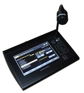 BVRTSM (small image) touchscreen microphone message selection