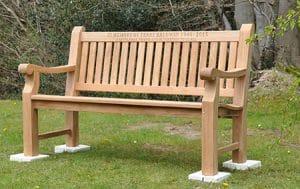 Bench in memory of Terry Baldwin