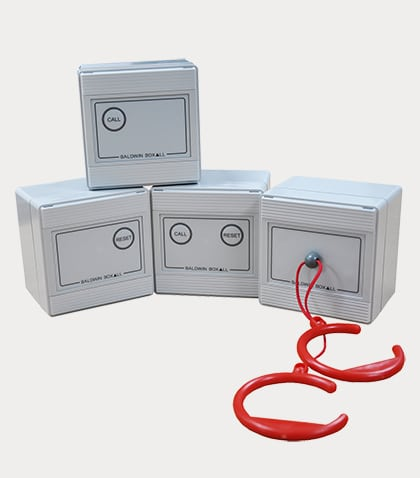 IP65 water resistant toilet alarm