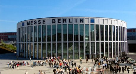 Messe Berlin expansion projects feature networked VIGIL2 and VIGIL3 voice alarm system designed by industry experts Laauser & Vohl.